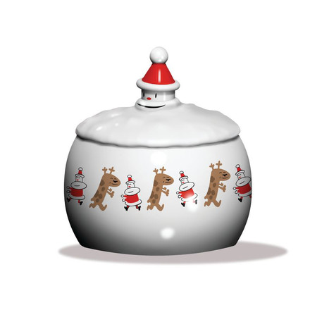 A di Alessi - Let it Snow biscuit box