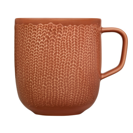 Sarjaton Mug red clay - single image