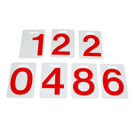 Danese Milano - Formosa spare numbers (red), single image