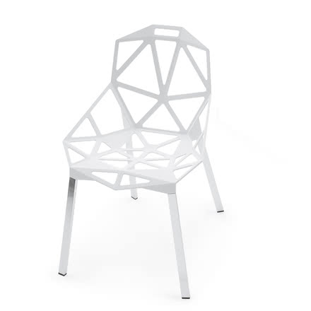 Magis - Chair One Stapelstuhl, white