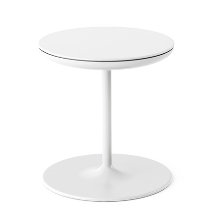 Zanotta - Toi side table, white