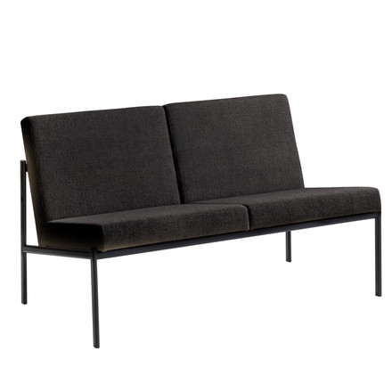 Artek - Kiki Sofa 2-seater (Hannlingdal 65 anthracite), single image