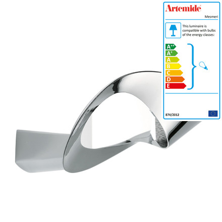 Artemide Mesmeri wall lamp chrom