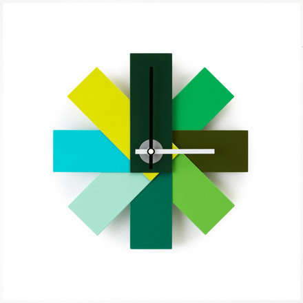 Normann Copenhagen - Watch me wall clock, green