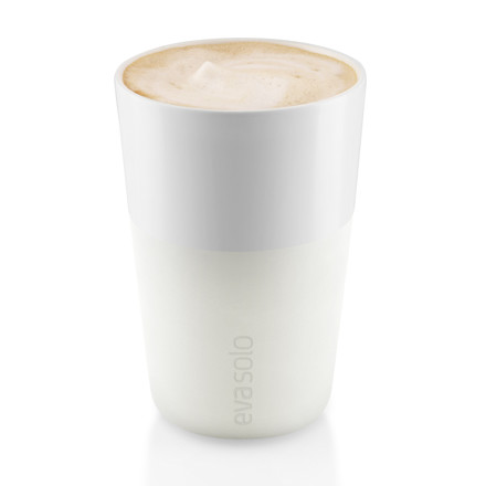 Eva Solo - Caffé Latte-Cup, white - single image