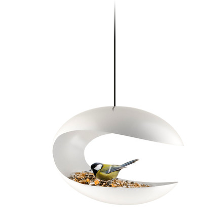 Eva Solo - Bird Feeder - pendant, white, single image