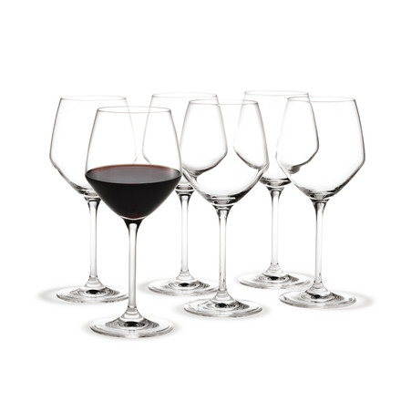 Holmegaard - Perfection Red Wine Glass, 43cl, set of 6