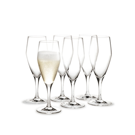 Holmegaard - Perfection champagne glass, 12.5cl, set of 6, single image