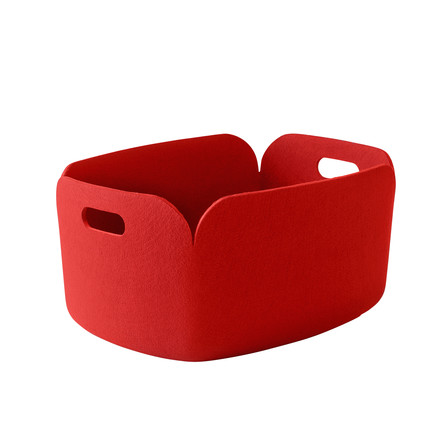 Muuto - Restore storing basket, red - single image