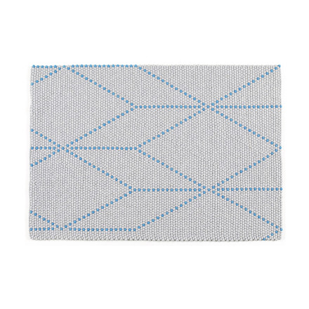 Hay - S&B Dot Carpet, big blue, 120x170cm