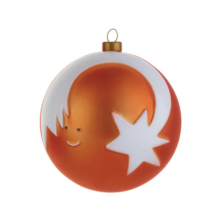 A di Alessi - Stella cometa Christmas Bauble, single image