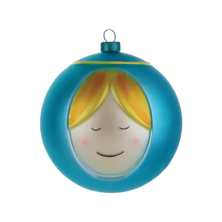 Single image of the Maria Christmas Bauble by A di Alessi
