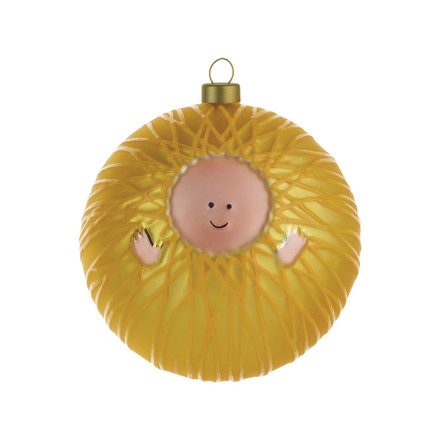 A di Alessi - Gesù Bambino Christmas Bauble, single image