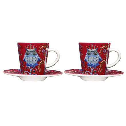 Iittala - Espresso Cup (set of 2 pcs.), red