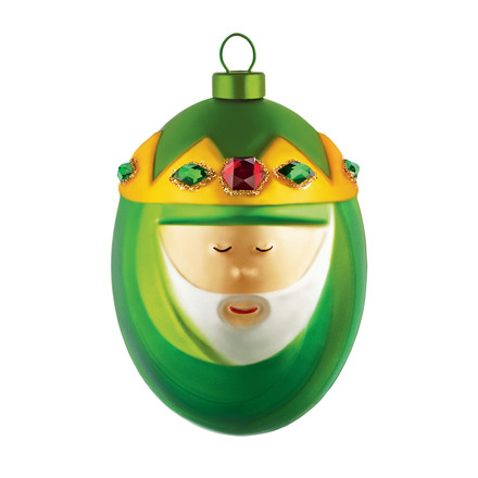 Alessi - A di Alessi - Melchiorre Christmas Bauble, single image