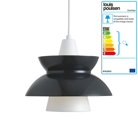 Louis Poulsen - DooWop Pendant Light, dark grey