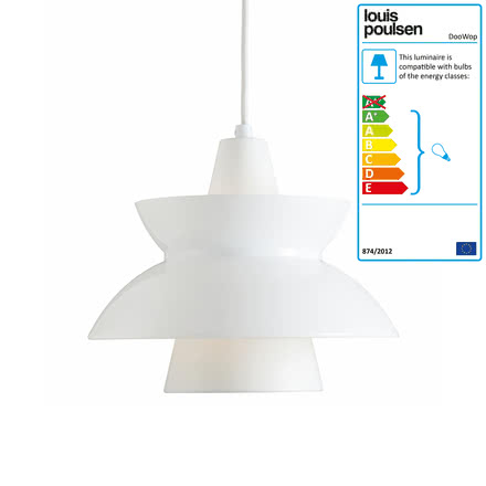 Louis Poulsen - DooWop Pendant Light, white