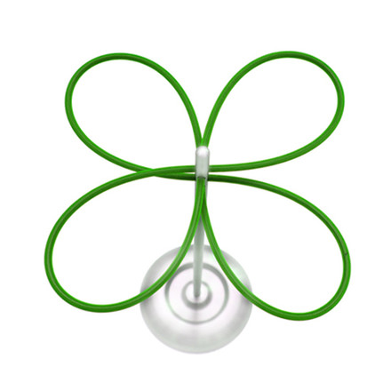 lucky clover umbrella stand, single image