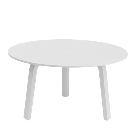 Hay - Bella Couchtable, white Ø 60 x H 32
