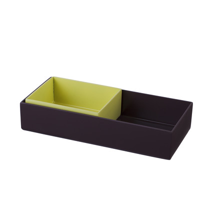 Hay - Organizer, set of 2, yellow/ aubergine, single image