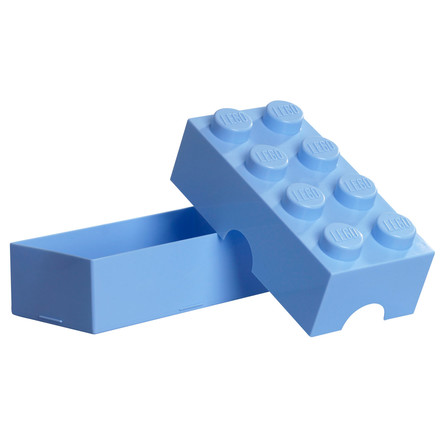 Lego - Lunch Box 8, hellblau - open