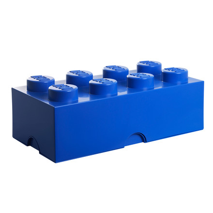 Lego - Storage Box 8, dark blue, single image