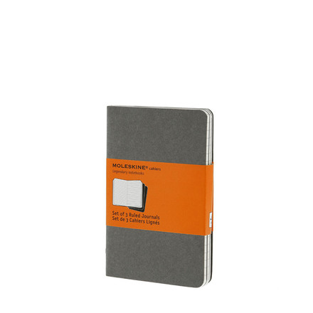 Moleskine - Cahier note-book, lined, pocket, single image