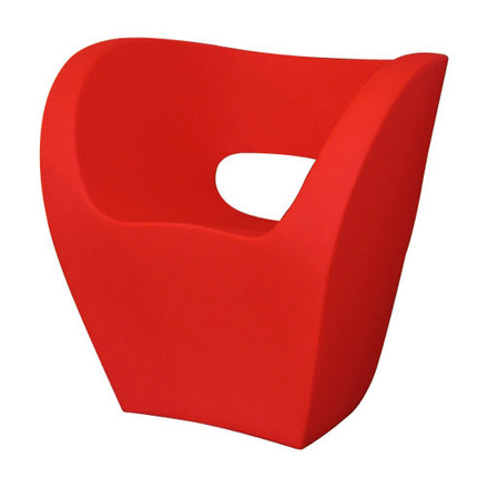 Moroso - Victoria and Albert chair- Cod. 61/ Bezug Kat. W Divina, red, single image