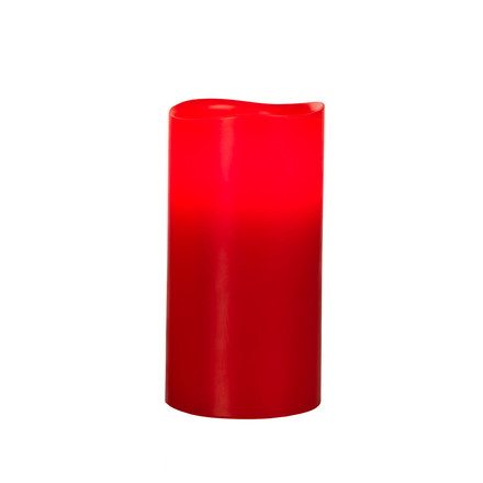LED Pure Wax Candle, red wax L, single image