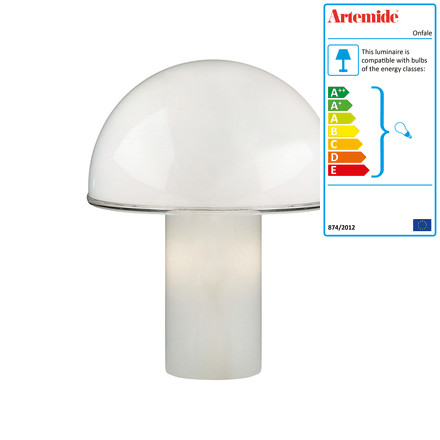 Artemide - Onfale Tavolo table lamp, large