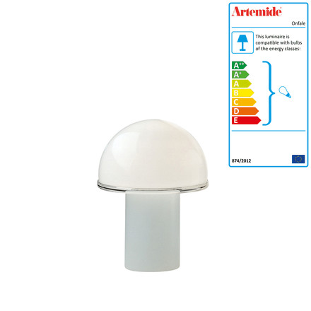 Artemide - Onfale Tavolo table lamp, small, single image
