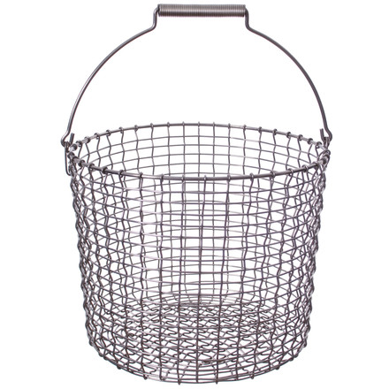Bucket 20 Wire Basket made of stainless steel