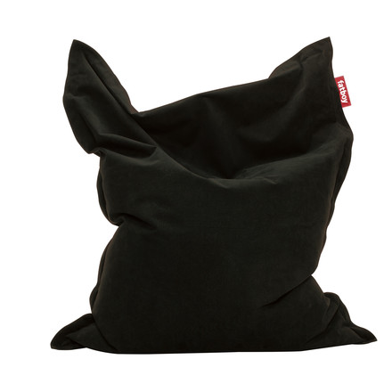 fatboy original - beanbag Stonewashed, black, single image