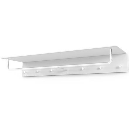 Frost - Unu coat rack with hooks and bar, 1000 mm