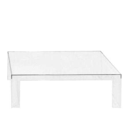Kartell - Invisible table H 31.5 cm, clear