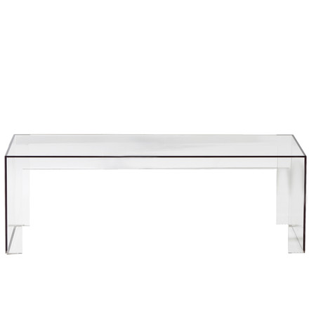 Kartell - Invisible Side Bank H 40cm, crystal clear