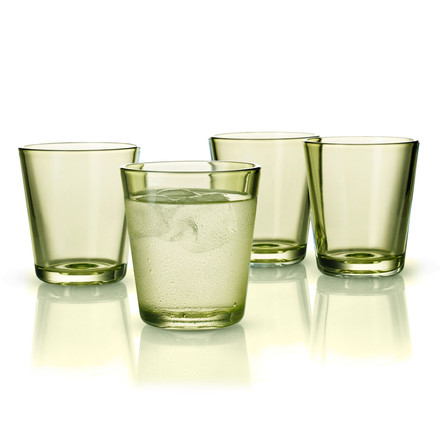 Eva Solo - Colored Glass, Set of 4, lime