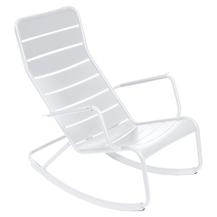 fermob - Luxembourg rocking chair, white, single image