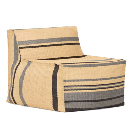 Weishäupl - Chill armchair, nature striped