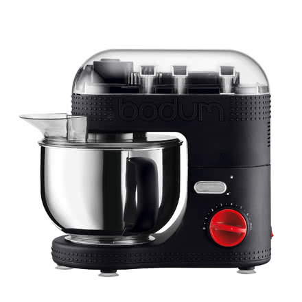 Bodum -  Electric Stand Mixer 4.7 l black, closed