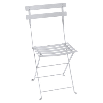 Fermob - Bistro folding chair metal, white, single image