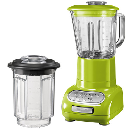 Artisan Stand mixer with glass container, apple green