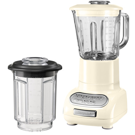 Kitchen Aid - Artisan blender with glass container, almond cream