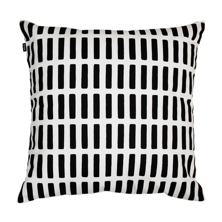 Artek - Siena pillow case, white/ black, single image