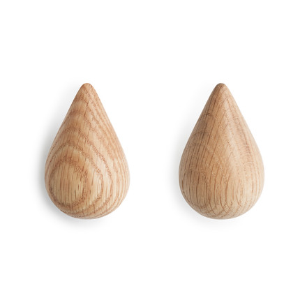 Normann Copenhagen - Dropit Hooks, nature, small, set