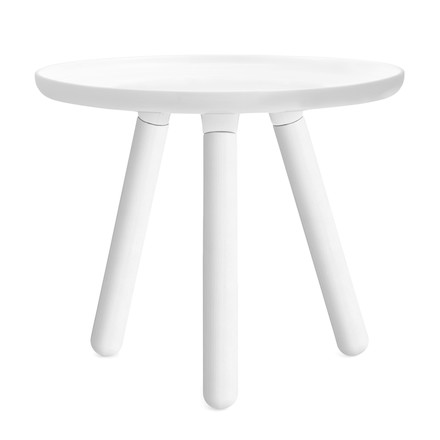 Normann Copenhagen - Tablo side table, white/ white