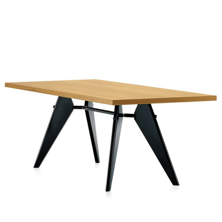 Vitra - Em Table, oak natural/ black
