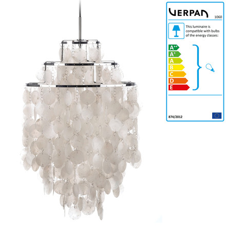 Verpan - Fun 1DM pendant lamp, single image