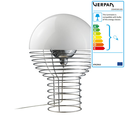 Verpan - Wire table lamp, small