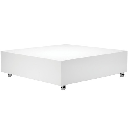 Verpan - Panton Low Lounge Table, white, single image